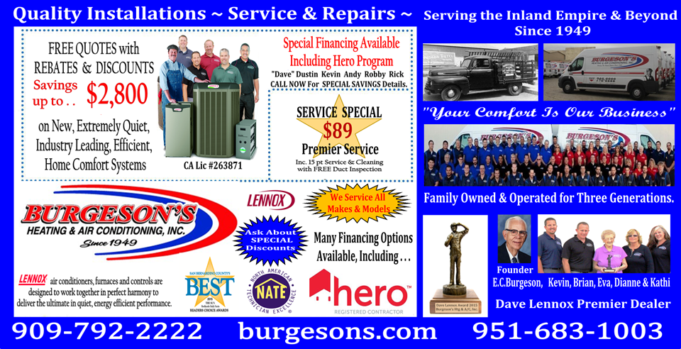 Burgesons Heating and Air Conditioning